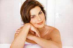 Close up Portrait of Woman Smiling