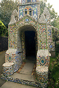 Little Chapel, Guernsey is possibly the smallest chapel in the world. It was built out of seashells and broken pottery by Brother Déodat who started work in March 1914