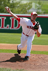 18 April 2010: Cam Verbeke.  Southern Illinois Salukis and the Illinois State Redbirds face off on Duffy Bass Field on the campus of Illinois State University in Normal Illinois.