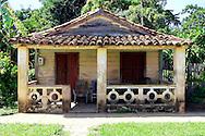 House in Puerto Esperanza, Pinar del Rio, Cuba.