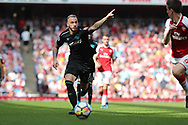 West Ham United midfielder Marko Arnautovic (7) during the Premier League match between Arsenal and West Ham United at the Emirates Stadium, London, England on 22 April 2018. Picture by Bennett Dean.