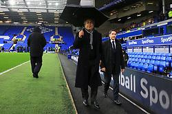 Everton owner Farhad Moshiri ahead of the Premier League match at Goodison Park, Liverpool.