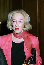 LADY JOHN CHOLMONDELEY at a party in London on 16th 1997. LZJ 24