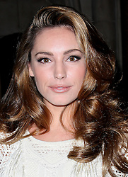 Kelly Brook at the  Giles show at London Fashion Week, Monday, 19th September 2011Photo by: Stephen Lock/i-Images