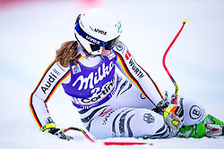 17.01.2018, Olympia delle Tofane, Cortina d Ampezzo, ITA, FIS Weltcup Ski Alpin, Abfahrt, Damen, 1. Training, im Bild Michaela Wenig (GER) // Michaela Wenig of Germany in action during the 1st practice run of ladie' s downhill of the Cortina FIS Ski Alpine World Cup at the Olympia delle Tofane course in Cortina d Ampezzo, Italy on 2015/01/17. EXPA Pictures © 2018, PhotoCredit: EXPA/ Dominik Angerer