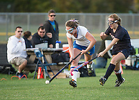 GHS Field Hockey versus Profile October 18, 2013.  Karen Bobotas/for the Laconia Daily Sun