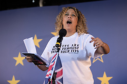 © Licensed to London News Pictures . 25/03/2017 . London , UK . SELENA GODDEN . A Unite for Europe anti Brexit march through central London , from Park Lane to Westminster . Protesters are campaigning ahead of the British government triggering Article 50 of the Lisbon Treaty which will initiate Britain's withdrawal from the European Union . Photo credit : Joel Goodman/LNP