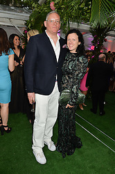 GILES DEACON and KATIE GRAND at the Glamour Women of The Year Awards in Association with Next held in Berkeley Square Gardens, Berkeley Square, London on 3rd June 2014.