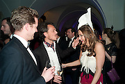 MATTHEW WILLIAMSON; LUCY YEOMANS, The Surrealist Ball in aid of the NSPCC. Hosted by Lucy Yeomans and Harry Blain. Banqueting House. Whitehall. 17 March 2011. -DO NOT ARCHIVE-© Copyright Photograph by Dafydd Jones. 248 Clapham Rd. London SW9 0PZ. Tel 0207 820 0771. www.dafjones.com.