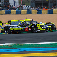 #4,  ByKolles Racing Team, ENSO CLM P1/01-Nismo, LMP1, driven by: Oliver Webb, Paolo Ruberti, Tom Dillmann on 15/06/2019 at the Le Mans 24H 2019