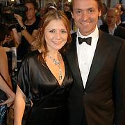 NLD/Den Haag/20060912 - Premiere Zwartboek, Celine Purcell en Hugo Haenen