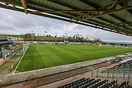 General stadium view during the Vanarama National League match between Forest Green Rovers and Chester FC at the New Lawn, Forest Green, United Kingdom on 14 April 2017. Photo by Shane Healey.