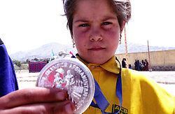 SPECIAL OLYMPICS AFGHANISTAN..KABUL 24 August 2005..Bagh-e-Zanana, girls games...