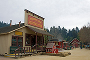 Roaring Camp Railroad, Felton, Santa Cruz County, California, USA
