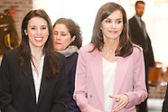 030620 Queen Letizia attends working meeting with APRAMP