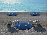 Beach Umbrellas, Nice, France