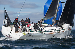 Clyde Cruising Club's Scottish Series 2019<br /> 24th-27th May, Tarbert, Loch Fyne, Scotland<br /> <br /> Day 1, GBR4041R, Forty Licks, East Down YC, First 40<br /> <br /> Credit: Marc Turner / CCC