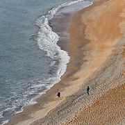 Beach at Durdle Door, Dorset.