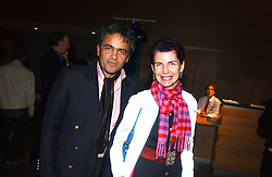 MR BALDASSARE LA RIZZA and MISS NATHALIE HAMBRO at the launch party for 'The London Look - Fashion From Street to Catwalk' held at the Museum of London, London Wall, Londom EC2 on 28th October 2004<br /><br />NON EXCLUSIVE - WORLD RIGHTS