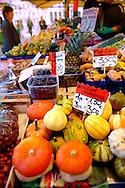 Zucche or squash - Rialto vegetable market - Venice Italy