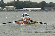 Eton, GREAT BRITAIN, CAN M4-, Bow, Scott FRANDSEN, Kyle HAMILTON, Ben RUTTLEDGE, Barney WILLIAMS, move away from the start, move away from the start, at the, 2006 World Rowing Championships, 20/08/2006.  Photo  Patrick White, © Intersport Images,  Tel +44 [0] 7973 819 551,  email images@intersport-images.com , Rowing Courses, Dorney Lake, Eton. ENGLAND