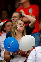 Photo: Glyn Thomas.<br />England v Trinidad & Tobago. Group B, FIFA World Cup 2006. 15/06/2006.<br /> An England fan with big balloons.