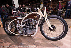 Romanian custom bike  builder Racz Dorin's 1100 cc 1973 Harley-Davidson Ironhead Rise of Anarchy in the Swiss-Moto Customizing and Tuning Show. Zurich, Switzerland. Friday, February 22, 2019. Photography ©2019 Michael Lichter.