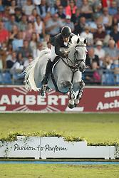 Alvarez Moya Sergio, (ESP), Carlo 273<br /> Team completion and 2nd individual qualifier<br /> FEI European Championships - Aachen 2015<br /> © Hippo Foto - Dirk Caremans<br /> 20/08/15
