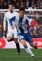 RCD Espanyol at Valencia CF 18 feb 2019