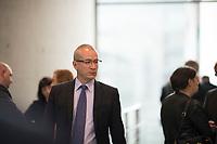 DEU, Deutschland, Germany, Berlin, 26.09.2017: Hansjörg Müller (MdB, AfD) vor der ersten Fraktionssitzung der AfD-Bundestagsfraktion im Deutschen Bundestag.