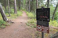 Kintla Lake Trail Glacier National Park