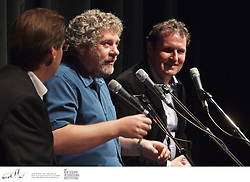 Ken Duncum, teacher of Victoria Universitys scriptwriting course, leads a discussion with playwrights and screenwriters Dave Armstrong and Robert Shearman to explore how theatre continues to survive in an age of downloads, DVDs, YouTube and TV on demand...Duncums own plays include Blue Sky Boys, Cherish and Trick of the Light. He is joined by prolific New Zealand playwright, Dave Armstrong, whose plays include Niu Sila, The Motor Camp and Rita and Douglas. Best known for bringing the Dalek back to Doctor Who, Robert Shearman is a well established British playwright who has worked with Alan Ayckbourn, had a play produced by Francis Ford Coppola and received several international theatre awards.