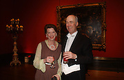 Charles Saumeraz Smith and his wife Romilly  , Belle Epoche gala fundraising dinner. National Gallery. 16 March 2006. ONE TIME USE ONLY - DO NOT ARCHIVE  © Copyright Photograph by Dafydd Jones 66 Stockwell Park Rd. London SW9 0DA Tel 020 7733 0108 www.dafjones.com