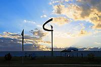 Juscelino Kubitschek memorial  father of Brasilia city capital of Brazil UNESCO World Heritage site