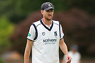 Oliver Hannon-Dalby of Warwickshire during the Specsavers County Champ Div 1 match between Yorkshire County Cricket Club and Warwickshire County Cricket Club at York Cricket Club, York, United Kingdom on 17 June 2019.