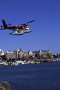 Floatplane, Victoria Harbor, British Columbia, Canada<br />