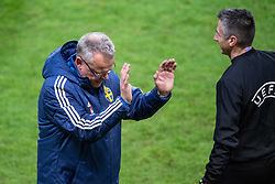 November 20, 2018 - Stockholm, SWEDEN - 181120 Head coach Janne Andersson of Sweden reacts during the Nations League football match between Sweden and Russia on November 20, 2018 in Stockholm  (Credit Image: © Simon HastegRd/Bildbyran via ZUMA Press)