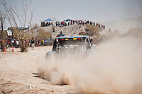2011 San Felipe Baja 250 Trophy truck winner Rob MacCachren passes through course near Zoo road