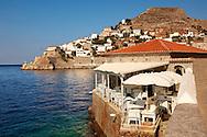 The historic port of Hydra,  Greek Saronic Islands