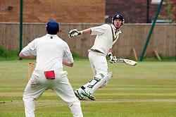 Mark Wright no4 bat for Upper Haugh...19  May 2012.Image © Paul David Drabble