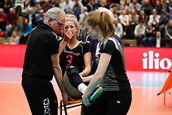 20180218 NED: Bekerfinale Eurosped - Sliedrecht Sport, Hoogeveen <br />Judith Kamphuis (3) of Team Eurosped<br />©2018-FotoHoogendoorn.nl