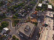 SHOT 7/1/17 7:02:40 PM - Drone photos of Park City, Utah. Park City lies east of Salt Lake City in the western state of Utah. Framed by the craggy Wasatch Range, it's bordered by the Deer Valley Resort and the huge Park City Mountain Resort, both known for their ski slopes. Utah Olympic Park, to the north, hosted the 2002 Winter Olympics and is now predominantly a training facility. In town, Main Street is lined with buildings built during a 19th-century silver mining boom. (Photo by Marc Piscotty / © 2017)