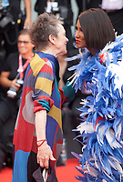 Laurie Anderson, and Iman Mohamed Abdulmajid at the Opening Ceremony and gala screening of the film The Truth (La Vérité) at the 76th Venice Film Festival, Sala Grande on Wednesday 28th August 2019, Venice Lido, Italy.