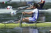 2002 FISA World Cup. Hazewinkel. BEL.       Friday  14/06/2002     .email images@Intersport-images.com.[Mandatory Credit: Peter Spurrier/Intersport Images]  .                                 /06/2002.Rowing. .FRA W1X Caroline DELAS Rowing, FISA WC.Hazenwinkel, BEL