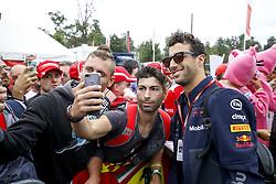 September 2, 2018 - Monza, Italy - Motorsports: FIA Formula One World Championship 2018, Grand Prix of Italy, .#3 Daniel Ricciardo (AUS, Aston Martin Red Bull Racing) (Credit Image: © Hoch Zwei via ZUMA Wire)