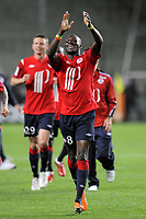 FOOTBALL - FRENCH CHAMPIONSHIP 2010/2011 - L1 - AS SAINT ETIENNE v LILLE OSC - 10/05/2011 - PHOTO JEAN MARIE HERVIO / DPPI - JOY MOUSSA SOW (LOSC) AT THE END OF THE MATCH