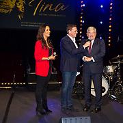NLD/Utrecht/20191021 - Castpresentatie Tina Turner Musical, Albert Verlinde en Burgemeester Jan van Zanen