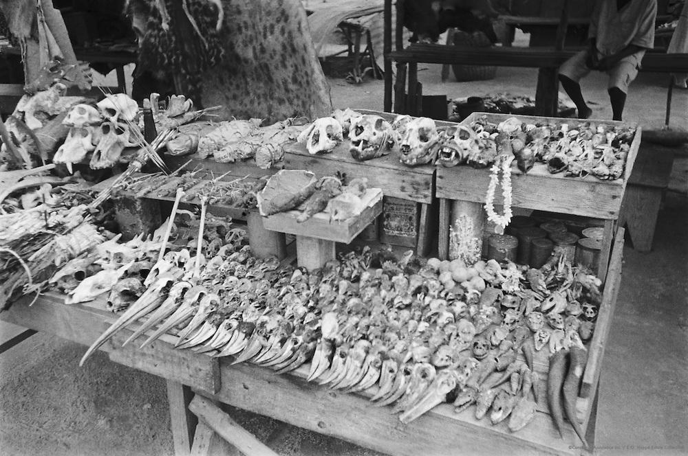 Medicine Market, Lagos, Nigeria, Africa, 1937