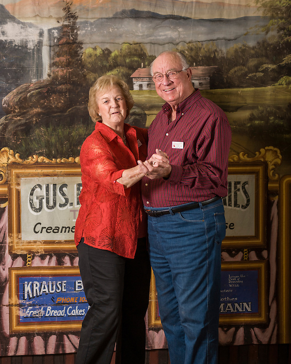 Portraits of Texas members of the Polka Lovers Klub of America (2014)