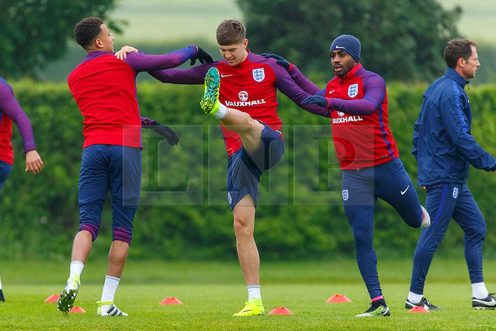 © Licensed to London News Pictures. 01/06/2016. London, UK. England team train at Watford Training Ground on Wednesday, 1 June 2016, ahead of the Euro 2016 in France. Photo credit: Tolga Akmen/LNP